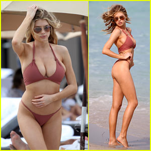 Charlotte McKinney Shows Off Her Super, Sexy Bikini Body!