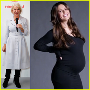 Cheryl Cole Shows Off Baby Bump In L'Oreal & The Prince's Trust Ad with Helen Mirren - Watch Here!