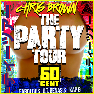 Chris Brown Announces 'Party Tour' Dates with 50 Cent & More!