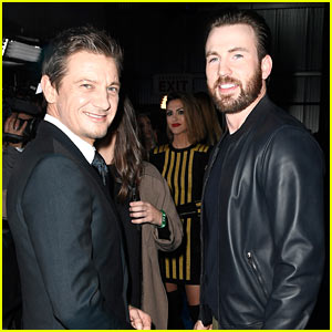 Chris Evans & Jeremy Renner Make it an 'Avengers' Reunion at DirecTV Now Super Saturday Night