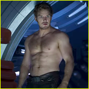 Chris Pratt Is Shirtless in Latest 'Guardians' Trailer - See the Pic!