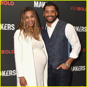Ciara Goes Makeup-Free & Shows Off Baby Bump on Red Carpet