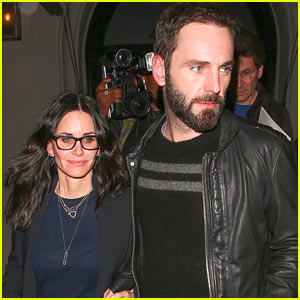 Courteney Cox & Fiance Johnny McDaid Step Out for Date Night