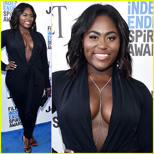 OITNB's Danielle Brooks Flaunts Slimmer Figure in Daring Jumpsuit at Spirit Awards 2017!