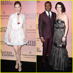 David Oyelowo's Wife Jessica Needed 'No Acting' In 'A United Kingdom'!