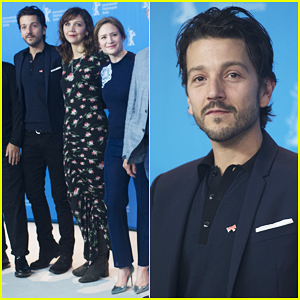 Diego Luna & Maggie Gyllenhaal Hit Berlin Film Fest 'To Investigate How To Tear Down Walls'!
