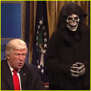 'SNL' Mocks Donald Trump's Advisor Steve Bannon as The Grim Reaper - VIDEO