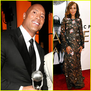 Dwayne Johnson Wins Entertainer of the Year at NAACP Image Awards