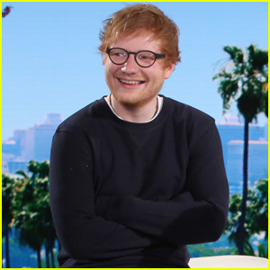 Ed Sheeran Doesn't Have a Cell Phone Anymore! (Video)