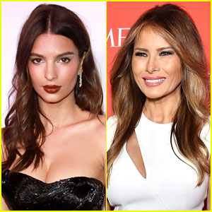 Melania Trump Thanks Emily Ratajkowski for Defending Her Against Slut Shaming