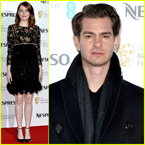 Emma Stone & Andrew Garfield Step Out for Pre-BAFTAs Party!