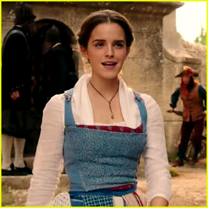 Emma Watson Sings 'Belle' with the Townspeople in 'Beauty & The Beast' First Look Clip!