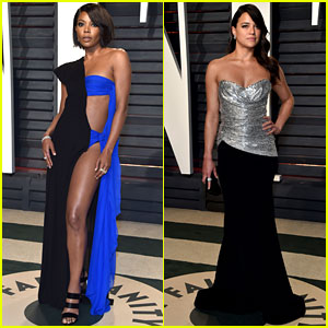 Gabrielle Union Wears Super Sexy Dress to Vanity Fair Oscar Party