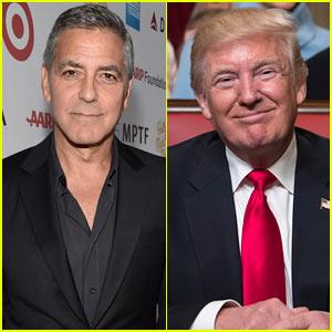 George Clooney Slams Donald Trump, Calls Him 'A Hollywood Elitist'