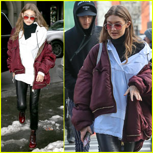 Gigi Hadid Shares Throwback Picture From This Year's Victoria's Secret Fashion Show