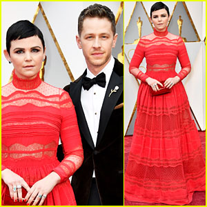 Ginnifer Goodwin & Josh Dallas Are One Hot Couple at Oscars 2017!