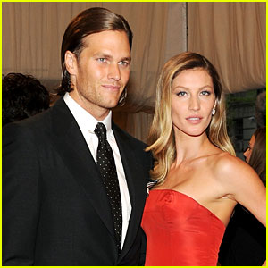 Gisele Bundchen & Tom Brady Named Co-Chairs of Met Gala 2017