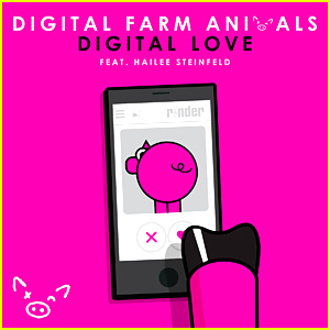 Hailee Steinfeld Sings 'Digital Love' with Digital Farm Animals - Listen Now!