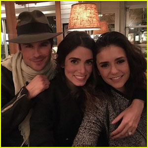 Ian Somerhalder Opens Up About 'First Real Dinner' Between Wife Nikki Reed & Ex Nina Dobrev