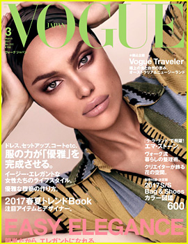 Irina Shayk Wears a Head Scarf on 'Vogue Japan' Cover