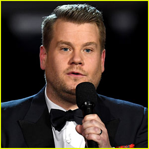 James Corden Takes on 'Fake News' with 'Fake Tweets' at Grammys 2017 - Watch Now!