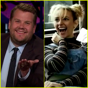 James Corden Hilariously Dissects Lifetime's Britney Spears Movie - Watch Now!