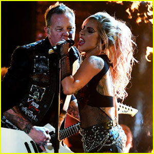 Metallica's James Hetfield Throws Guitar Off Stage After Sound Issues During Grammys Performance With Lady Gaga