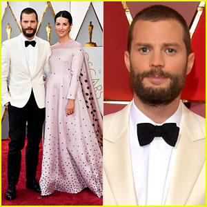 Jamie Dornan Brings Wife Amelia to Oscars 2017!