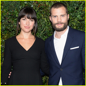 Jamie Dornan Brings Wife Amelia to Pre-Oscars Chanel Party
