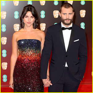 Jamie Dornan & Wife Amelia Warner Hold Hands at BAFTAs 2017