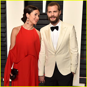 Jamie Dornan's Wife Amelia Warner Switches Up Look for Vanity Fair Oscars Party 2017