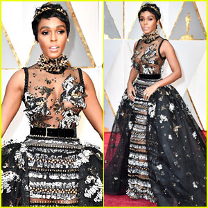 Janelle Monae Arrives in Style for Her First Oscars!