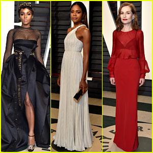 Janelle Monae & Naomie Harris Celebrate 'Moonlight' Win at Vanity Fair Oscars Party 2017!