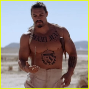 Jason Momoa Goes Shirtless in 'The Bad Batch' Trailer - Watch Now!