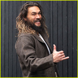 Jason Momoa Hangs Out at the Guinness Brewery in Ireland