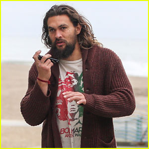 Jason Momoa's Truck Broke Down But Luckily He Had These Two Items With Him!