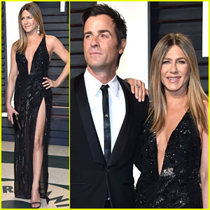 Jennifer Aniston & Justin Theroux Get All Dressed Up for Oscars Night 2017!