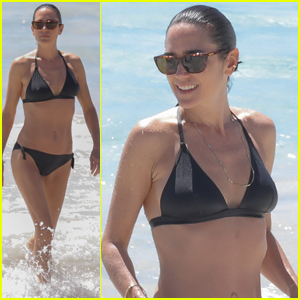 Jennifer Connelly Flaunts Her Bikini Beach Bod in St. Barts