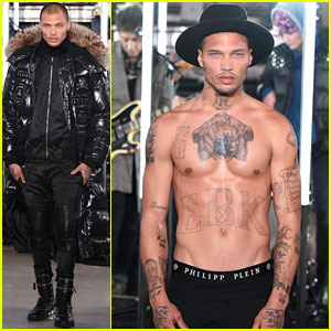 'Hot Mugshot Guy' Jeremy Meeks Makes NYFW Debut!