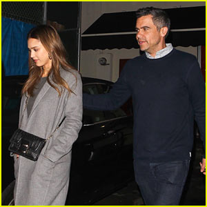 Jessica Alba & Husband Cash Warren Enjoy Date Night in WeHo