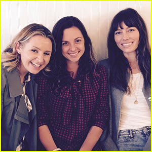 Jessica Biel, Beverley Mitchell, & Mackenzie Rosman Have a '7th Heaven' Reunion!