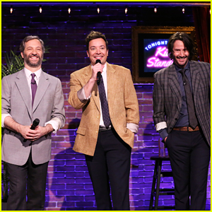 Jimmy Fallon, Keanu Reeves & Judd Apatow Perform Stand-Up Written By Kids - Watch Here!