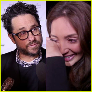 JJ Abrams Talks About Showing 'Star Wars: The Force Awakens' to Terminally Ill Fans, Brings Cancer Advocate Megan Pormer to Tears (VIDEO)