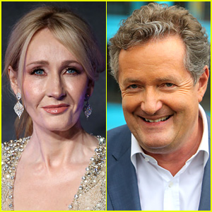 J.K. Rowling Drags Piers Morgan on Twitter for Defending Trump