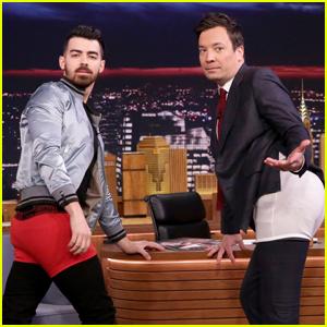 Joe Jonas Gives His Best Underwear Modeling Tips