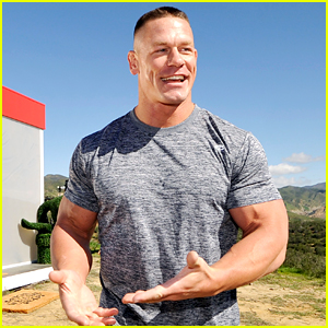 John Cena Puts His Huge Muscles on Display in the Hills