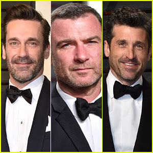 Jon Hamm, Liev Schreiber, & Patrick Dempsey Look So Handsome at Vanity Fair Oscars Party 2017!