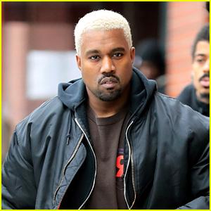 Kanye West Dyes His Hair Platinum Blond Again!