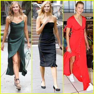 Karlie Kloss Shows Off Her Amazing Style While in Australia!