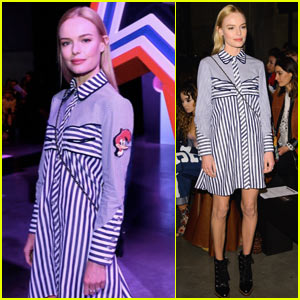 Kate Bosworth Attends the 'House of Holland' Fashion Show in London